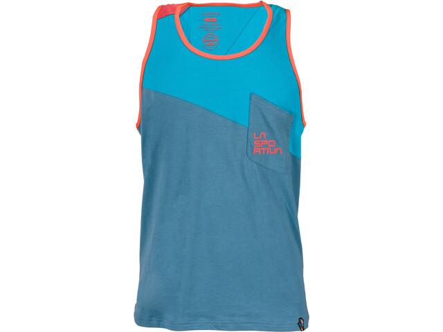 La Sportiva Dude camicia a maniche corte Uomo blu su Addnature eca26ffb8e4